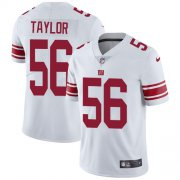 Wholesale Cheap Nike Giants #56 Lawrence Taylor White Men's Stitched NFL Vapor Untouchable Limited Jersey