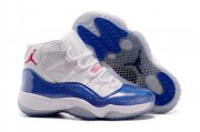 Wholesale Cheap Air Jordan 11 Womens Girls Shoes Blue/white-red