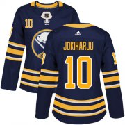 Wholesale Cheap Adidas Sabres #10 Henri Jokiharju Navy Blue Home Authentic Women's Stitched NHL Jersey