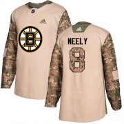 Wholesale Cheap Adidas Bruins #8 Cam Neely Camo Authentic 2017 Veterans Day Stitched NHL Jersey