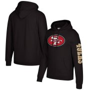 Wholesale Cheap San Francisco 49ers Mitchell & Ness Classic Team Pullover Hoodie Black