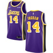 Wholesale Cheap Nike Los Angeles Lakers #14 Brandon Ingram Purple NBA Swingman Statement Edition Jersey