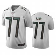 Wholesale Cheap Los Angeles Chargers #77 Forrest Lamp White Vapor Limited City Edition NFL Jersey