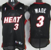 Wholesale Cheap Miami Heat #3 Dwyane Dwyane Wade Black Swingman Jersey