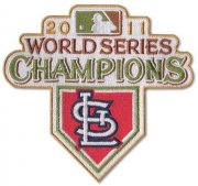 Wholesale Cheap Stitched 2011 St. Louis Cardinals MLB World Series Champions Jersey Patch