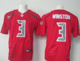Wholesale Cheap Nike Buccaneers #3 Jameis Winston Red Men\'s Stitched NFL Elite Rush Jersey