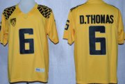 Wholesale Cheap Oregon Ducks #6 DeAnthony Thomas 2013 Yellow Limited Jersey