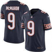 Wholesale Cheap Nike Bears #9 Jim McMahon Navy Blue Team Color Men's Stitched NFL Vapor Untouchable Limited Jersey