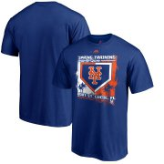 Wholesale Cheap New York Mets Majestic 2019 Spring Training Base On Ball T-Shirt Royal