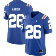 Wholesale Cheap Florida Gators 26 Marcell Harris Blue Throwback College Football Jersey