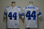 Wholesale Cheap Cowboys #44 Robert Newhouse White Legend Throwback Stitched NFL Jersey