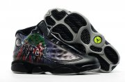 Wholesale Cheap Air Jordan 13 The Avengers Black/Super hero