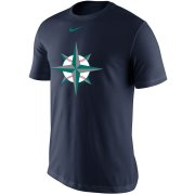 Wholesale Cheap Seattle Mariners Nike Legend Batting Practice Primary Logo Performance T-Shirt Navy