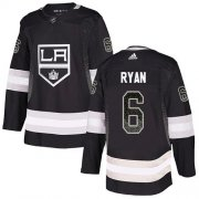 Wholesale Cheap Adidas Kings #6 Joakim Ryan Black Home Authentic Drift Fashion Stitched NHL Jersey
