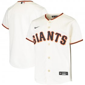 Wholesale Cheap San Francisco Giants Nike Youth Home 2020 MLB Team Jersey Cream