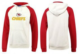 Wholesale Cheap Kansas City Chiefs Authentic Logo Pullover Hoodie White & Red