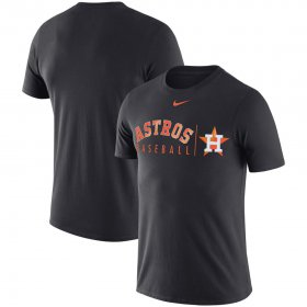 Wholesale Cheap Houston Astros Nike MLB Practice T-Shirt Anthracite
