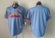 Wholesale Cheap Cardinals Blank Blue 1982 Turn Back The Clock Stitched MLB Jersey