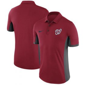 Wholesale Cheap Men\'s Washington Nationals Nike Red Franchise Polo