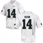 Wholesale Cheap Notre Dame Fighting Irish 14 DeShone Kizer White College Football Jersey