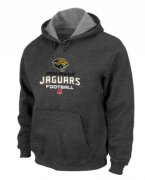 Wholesale Cheap Jacksonville Jaguars Critical Victory Pullover Hoodie Dark Grey