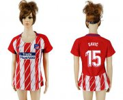 Wholesale Cheap Women's Atletico Madrid #15 Savic Home Soccer Club Jersey