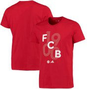 Wholesale Cheap Bayern Munich adidas Goalkeeper Go T-Shirt Red