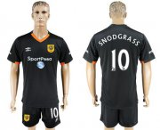 Wholesale Cheap Hull City #10 Snodgrass Away Soccer Club Jersey