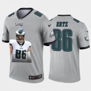 Cheap Philadelphia Eagles #86 Zach Ertz Nike Team Hero 4 Vapor Limited NFL Jersey Grey