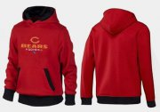 Wholesale Cheap Chicago Bears Critical Victory Pullover Hoodie Red & Black