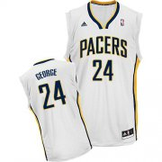 Wholesale Cheap Indiana Pacers #24 Paul George White Swingman Jersey