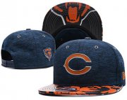 Wholesale Cheap NFL Chicago Bears Stitched Snapback Hats 018