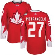 Wholesale Cheap Team Canada #27 Alex Pietrangelo Red 2016 World Cup Stitched Youth NHL Jersey