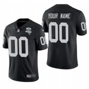 Wholesale Cheap Las Vegas Raiders Custom Men's Nike 2020 Inaugural Season Vapor Limited NFL Jersey Black