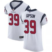 Wholesale Cheap Nike Texans #39 Tashaun Gipson White Men's Stitched NFL Vapor Untouchable Elite Jersey