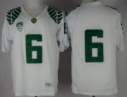 Wholesale Cheap Oregon Ducks #6 Charles Nelson 2013 White Limited Jersey