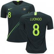 Wholesale Cheap Australia #8 Luongo Away Soccer Country Jersey