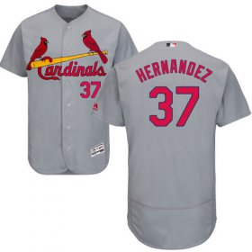 Wholesale Cheap Cardinals #37 Keith Hernandez Grey Flexbase Authentic Collection Stitched MLB Jersey