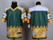 Wholesale Nike Packers Blank Green Men's Stitched NFL Elite Noble Fashion Jersey
