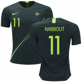 Wholesale Cheap Australia #11 Nabbout Away Soccer Country Jersey