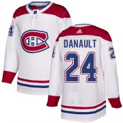 Wholesale Cheap Adidas Canadiens #24 Phillip Danault White Authentic Stitched Youth NHL Jersey
