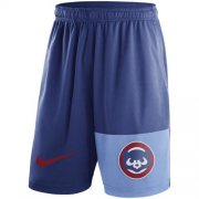 Wholesale Cheap Men's Chicago Cubs Nike Royal Cooperstown Collection Dry Fly Shorts