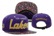 Wholesale Cheap NBA Los Angeles Lakers Snapback Ajustable Cap Hat XDF 021