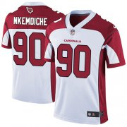 Wholesale Cheap Nike Cardinals #90 Robert Nkemdiche White Men's Stitched NFL Vapor Untouchable Limited Jersey