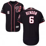 Wholesale Cheap Nationals #6 Anthony Rendon Navy Blue Flexbase Authentic Collection 2019 World Series Champions Stitched MLB Jersey
