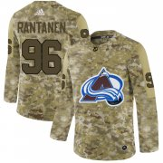 Wholesale Cheap Adidas Avalanche #96 Mikko Rantanen Camo Authentic Stitched NHL Jersey