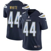 Wholesale Cheap Nike Chargers #44 Kyzir White Navy Blue Team Color Men's Stitched NFL Vapor Untouchable Limited Jersey