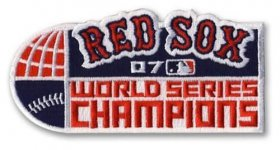 Wholesale Cheap Stitched MLB 2007 Boston Red Sox World Series Champions Jersey Patch