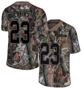 Wholesale Cheap Nike Chargers #23 Rayshawn Jenkins Camo Men's Stitched NFL Limited Rush Realtree Jersey