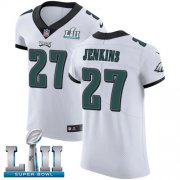 Wholesale Cheap Nike Eagles #27 Malcolm Jenkins White Super Bowl LII Men's Stitched NFL Vapor Untouchable Elite Jersey